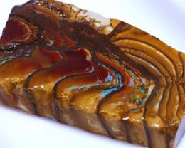 194.30 cts Yowah Opal Rough Slice D-178   Daviddarbyopals
