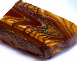 152.85 cts Yowah Opal Rough Slice D-179   Daviddarbyopals