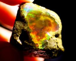 80cts Ethiopian Crystal Rough Specimen Rough / CR5571