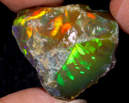 17cts Natural Ethiopian Welo Rough Opal / WR9690