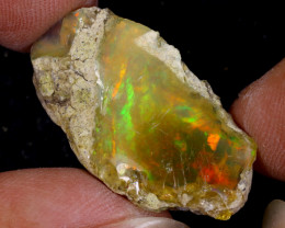 16cts Natural Ethiopian Welo Rough Opal / WR9696