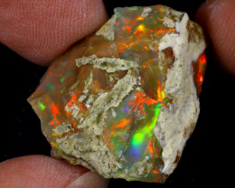 23cts Natural Ethiopian Welo Rough Opal / WR9698