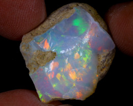 16cts Natural Ethiopian Welo Rough Opal / WR9699