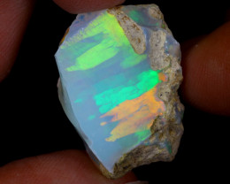 29cts Natural Ethiopian Welo Rough Opal / WR9702