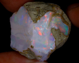 62cts Natural Ethiopian Welo Rough Opal / WR9712