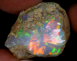 20cts Natural Ethiopian Welo Rough Opal / WR9737