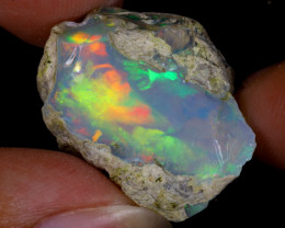 28cts Natural Ethiopian Welo Rough Opal / WR9739