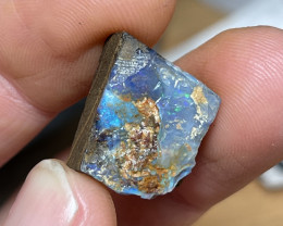 27.5cts No Reserve Boulder Opal Rough Specimen NR