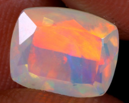 1.96cts Natural Ethiopian Faceted Welo Opal / NY3807