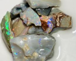 Multicolour Bright Potential Rough Seam Opals to Cut #928
