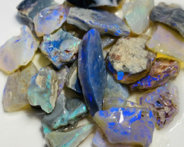 107 CTs of Bright Rough Opals With Nice Cutters #956