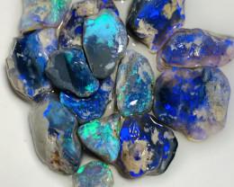 Black Nobby* High Grade Select Bright Quality Black Rough Opals To Cut