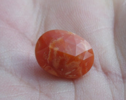 3.31 Ct. Faceted Mexican Fire Opal