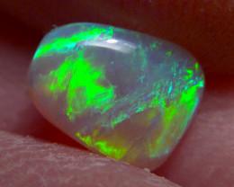 1.00 ct Extremely bright Lightning Ridge Gem Crystal Opal