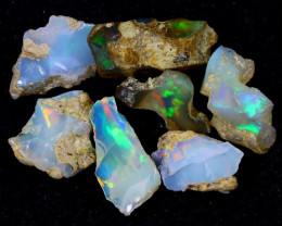51cts Natural Ethiopian Welo Rough Opal LOTS / PA1221