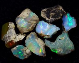 54cts Natural Ethiopian Welo Rough Opal LOTS/ PA1223