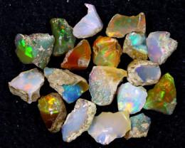 55cts Natural Ethiopian Welo Rough Opal LOTS / PA1232