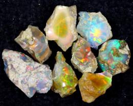 56cts Natural Ethiopian Welo Rough Opal LOTS / PA1250