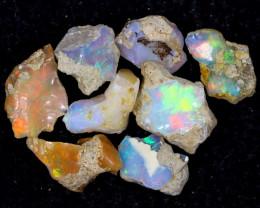 53cts Natural Ethiopian Welo Rough Opal LOTS / PA1251