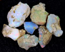 58cts Natural Ethiopian Welo Rough Opal LOTS / PA1253