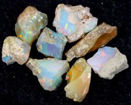 54cts Natural Ethiopian Welo Rough Opal LOTS / PA1254