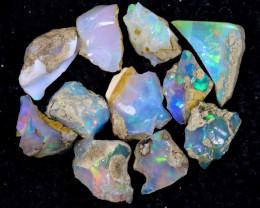54cts Natural Ethiopian Welo Rough Opal LOTS / PA1257