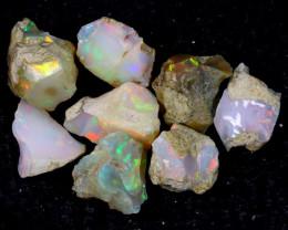 54cts Natural Ethiopian Welo Rough Opal LOTS / PA1258