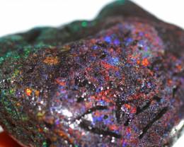 69 grams Andamooka rainbow matrix rough [BZ634]