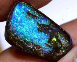 12.30cts  Boulder  Opal polished Cut Stone  TBO-A4186 Trueblueopals