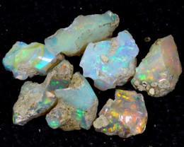 58cts Natural Ethiopian Welo Rough Opal / PA1273