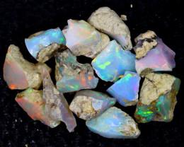 55cts Natural Ethiopian Welo Rough Opal / PA1302