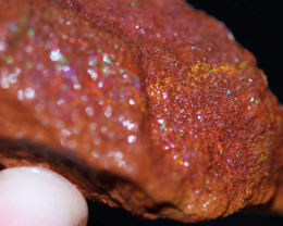 55 grams high grade red fairy opal rough untreated -oxidized [BZ668]