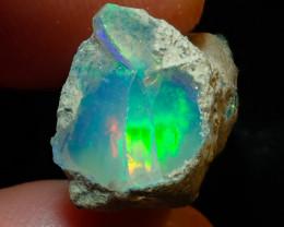 13.6ct Natural Ethiopian Welo Rough Opal
