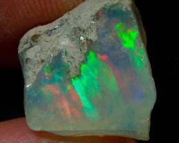 6.5ct Natural Ethiopian Welo Rough Opal