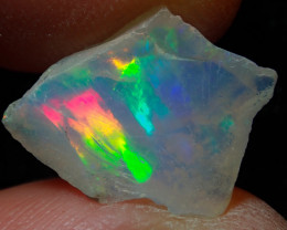 3.2ct Natural Ethiopian Welo Rough Opal