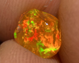 Gem quality 1.114ct Mexican Crystal Opal (OM)