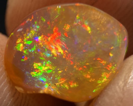 Brilliant 4.050ct Mexican Crystal Opal (OM)