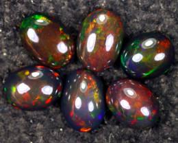 18.91cts Natural Ethiopian Welo Smoked Opal LOTS / NY3819