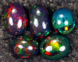 13.19cts Natural Ethiopian Welo Smoked Opal LOTS / NY3835