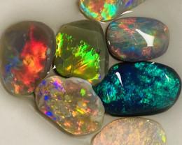Multicolour Clean Bright Beautiful Opal Rubs#993