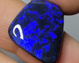 HUGE GEM ROYAL BLUE ON BLACK