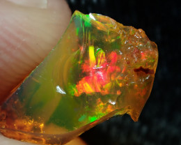 1.9ct Fire Opals With Play Of Color