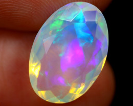 3.64cts Natural Ethiopian Faceted Welo Opal / ABF725