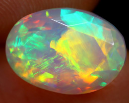 3.64cts Natural Ethiopian Faceted Welo Opal / ABF778