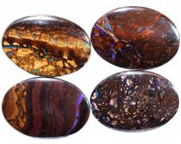 $24 per stone 26x15x5 mm calibrated Koroit oval boulder parcel-[FJP4785]