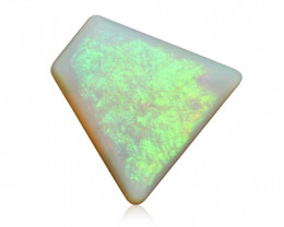 6.22 ct Certified White Opal from Coober Pedy - Australia