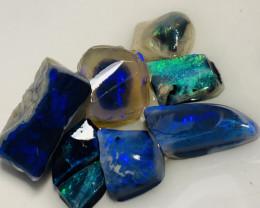 Black Rubs- Bright Black Opals Rubs; Happy Bidding #14