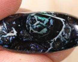 NO RESERVE!! Qld Black Boulder Matrix Opal [40448] 53FROGS