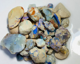 340 Cts of Rough Nobby Opals to Carve & Gamble