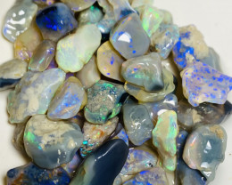 190  CTs Clean Bright Rough Nobby Opals With Nice Cutters # 37